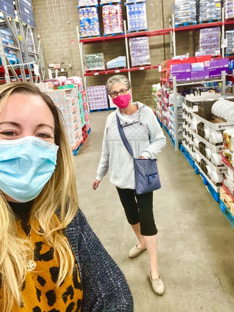 shopping at sams