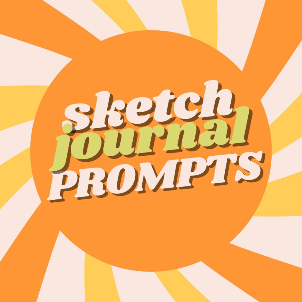 sketch journal prompts