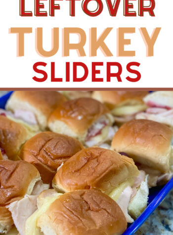 turkey cranberry sliders sandwich