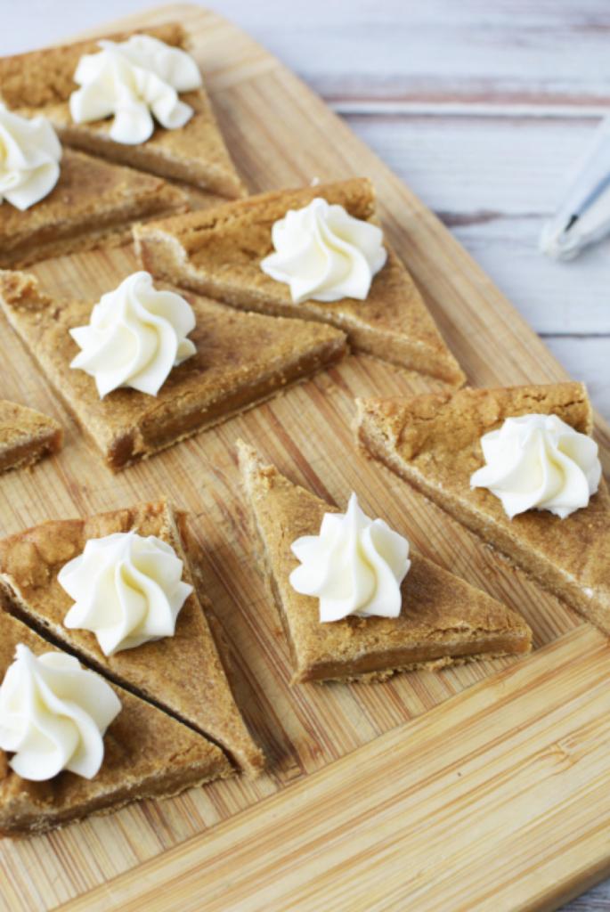cream cheese gingerbread bars