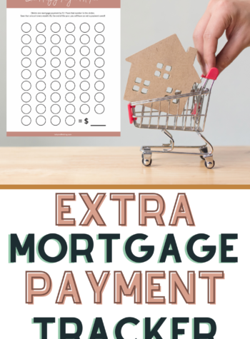 extra payment tracker for your mortgage