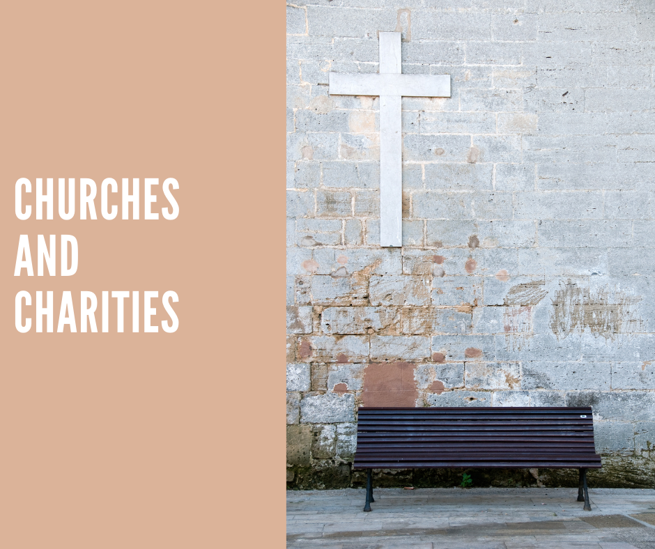 donate clothes to churches