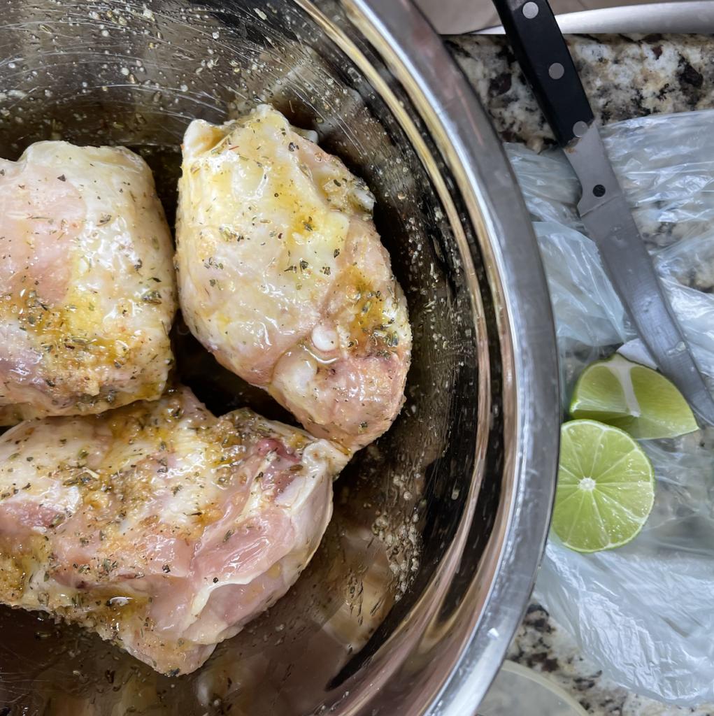 marinade chicken thighs