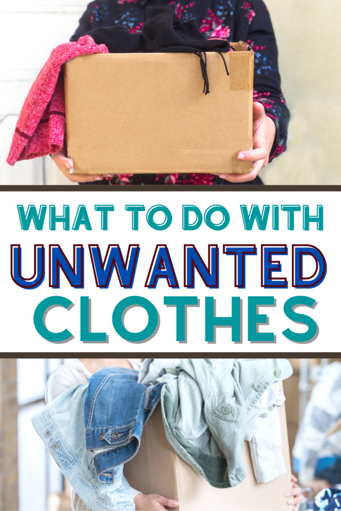 where to sell unwanted clothes