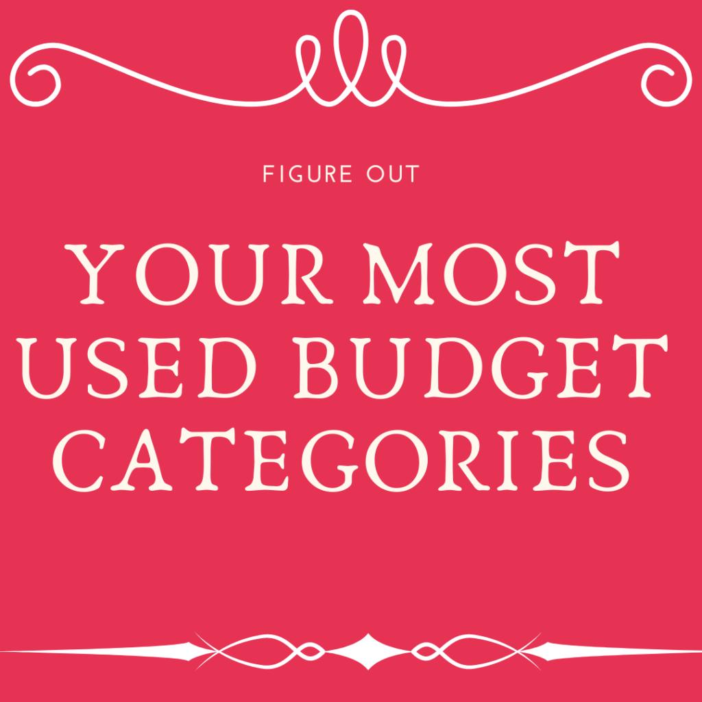 budget categories