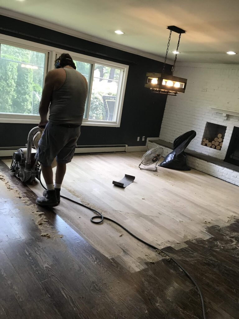 redoing wood floors