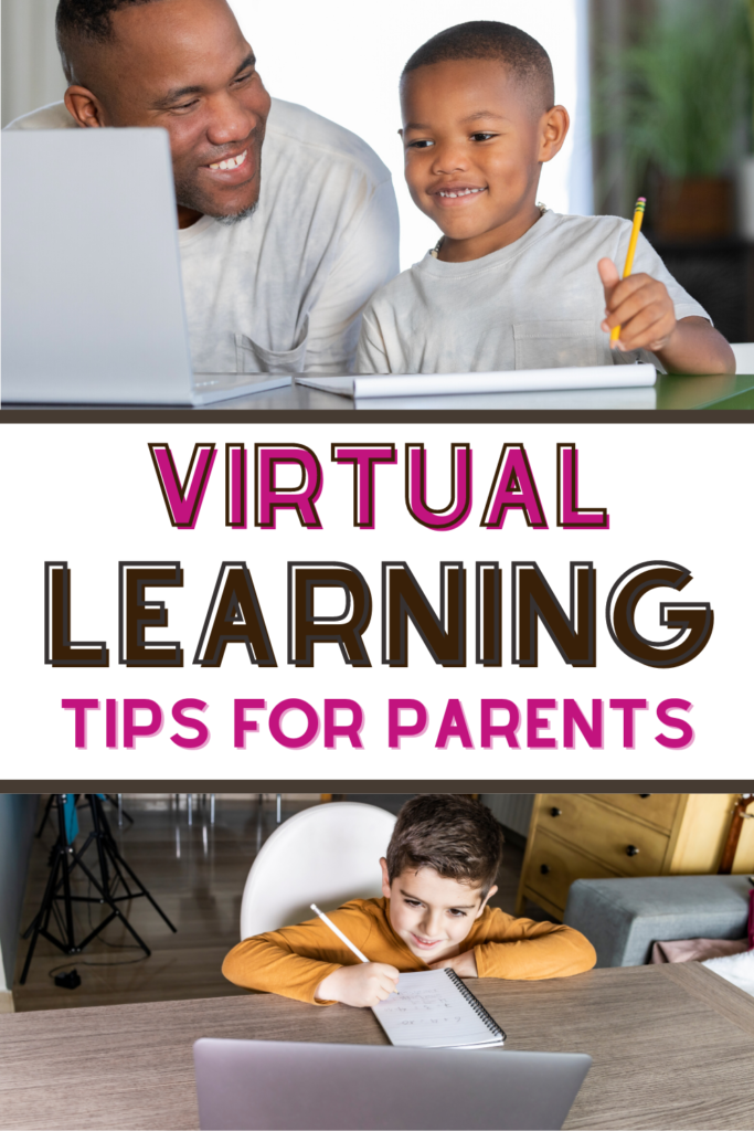 virtual learning tips for parents