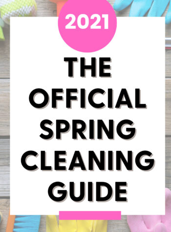 2021 spring cleaning guide