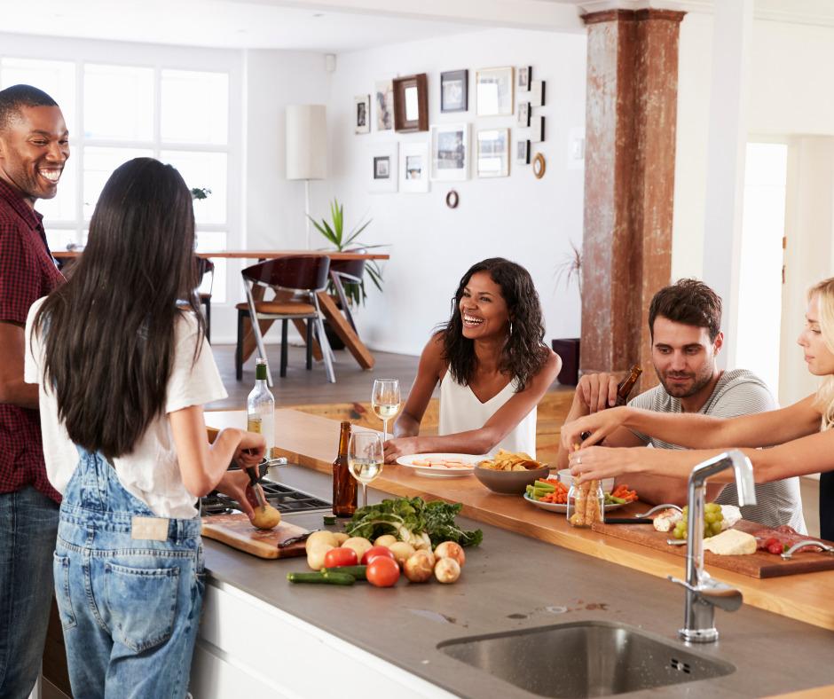 host a neighborhood dinner party
