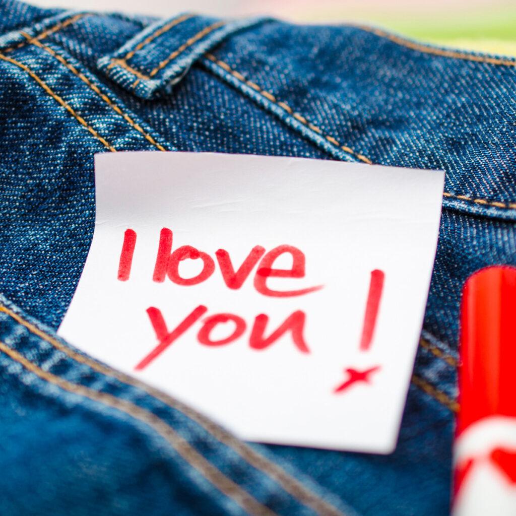 liebe dich Notizen