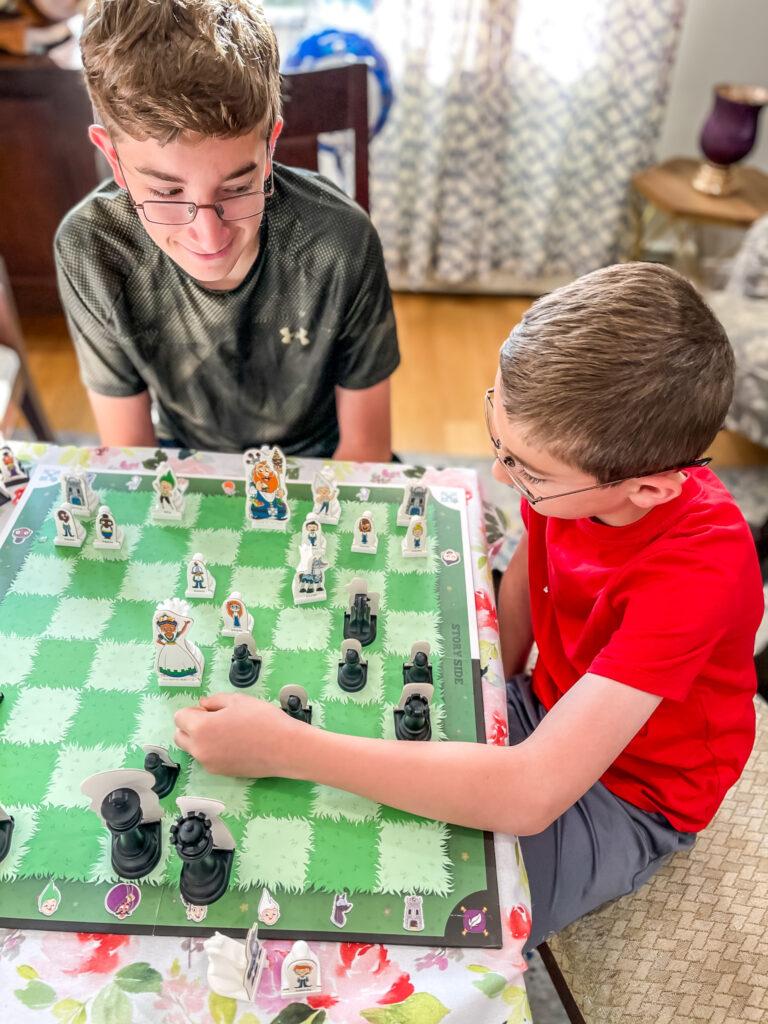chess game teaching