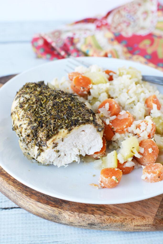 Crockpot Chicken And Rice Recipe