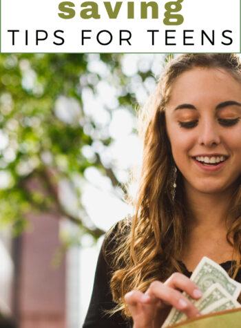 money saving tips for teens