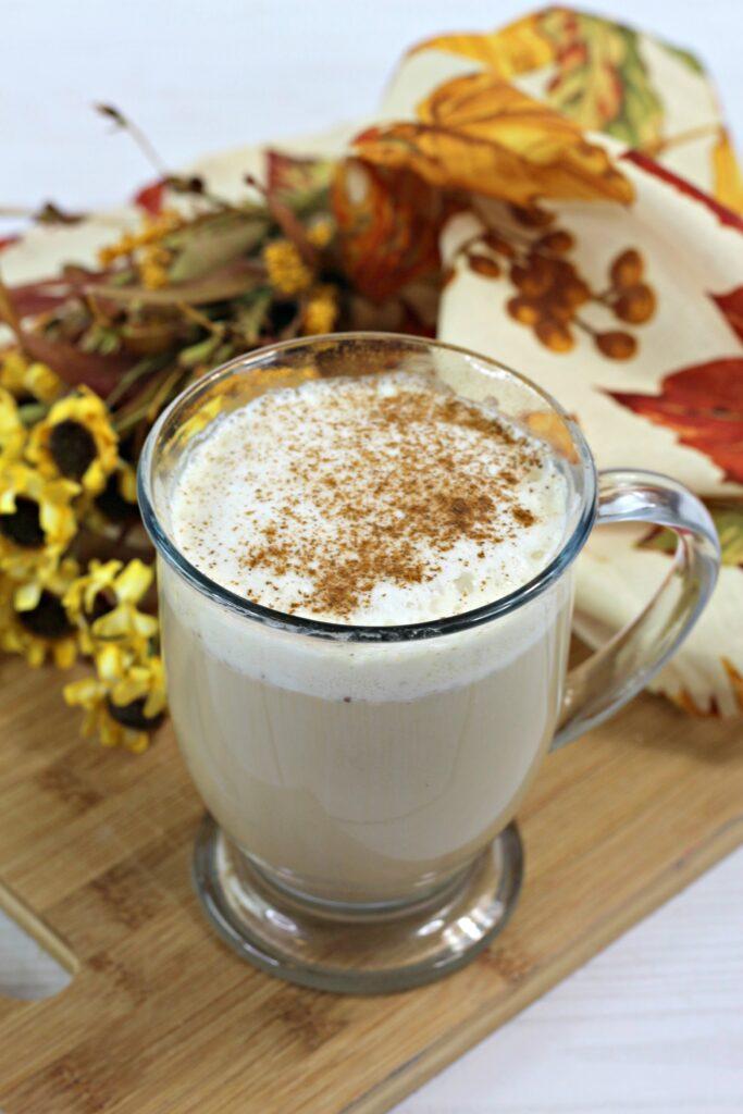 Homemade Hot Vanilla Chai Tea Latte
