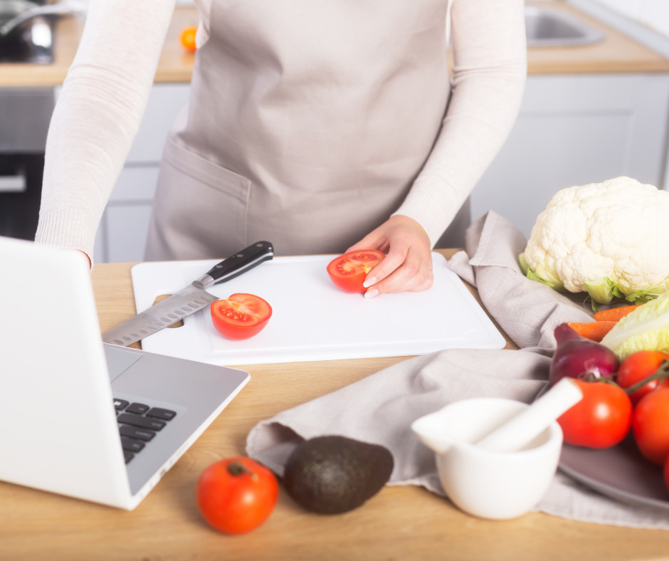 virtual cooking class for couples