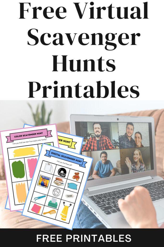 virtual scavenger hunts
