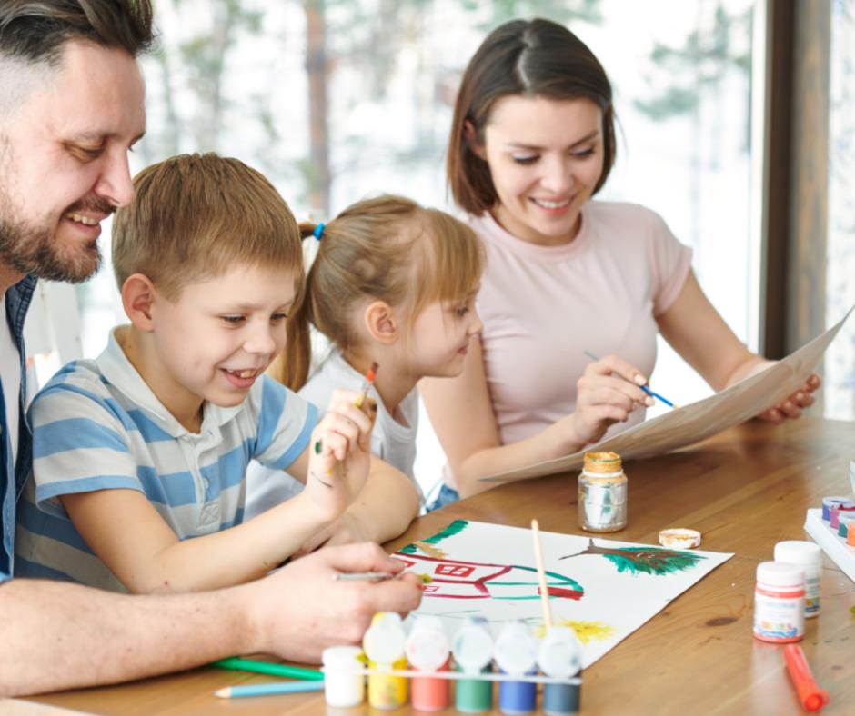 kids drawing art