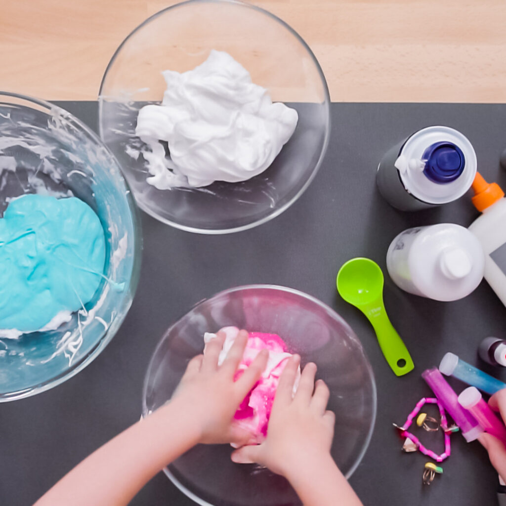 what to add to slime